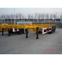 Wholesale 45 Feet-3 axles-Sleletal Container Semi-Trailer from china suppliers