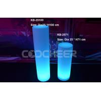 Wholesale Recyclable Led Cylinder Plastic Lampstandard For Wedding Party from china suppliers