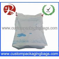 Wholesale Promotional Breathable CPE Plastic Drawstring Bags Color Printed For Storage from china suppliers