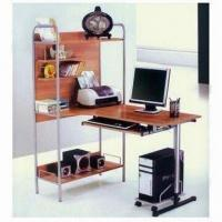 Wholesale Computer Desk with Flakeboard and Iron Pipe, Measures 1,220 x 840 x 1,500mm from china suppliers