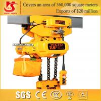 Wholesale Fast speed easy operation competitive price electric 1-25t chain hoist lifting block from china suppliers