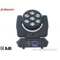 Wholesale 7*10W RGBW 4 In1 RGBW High Brightness LED DMX Moving Head Lights   X-9 from china suppliers