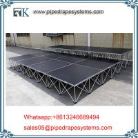 Wholesale mobile smart stage glass stage design systems for weddings and special event easy from china suppliers