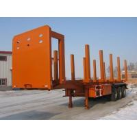 Wholesale SKW9405P Carbon Steel Logging Trailer For Log / Wood / Timber Transporting from china suppliers