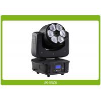 Quality LED Moving Head Beam Zoom, 6x15W, RGBW 4-in-1 Affordable Lighting Equipment for sale