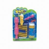Wholesale Bubble Blower Set, in Blister Cardboard Packing, Funny Toy from china suppliers