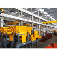 Wholesale ERYD Series Tyre Mobile Crushing Plant 50 T / H Capacity Mobile Crushing Equipment from china suppliers