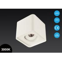 Buy cheap Modern Design Surface Mount LED Lights 7W 5 Inch Adjustable Square COB LED Downlight from wholesalers