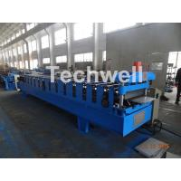 Wholesale 7.5KW Power PU Panel Roof Cold Roll Forming Machine With 13-20 Forming Stations from china suppliers