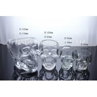 Wholesale Clear Glass Skull Beer Cup, mini wine glass shot glass from china suppliers