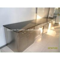 Wholesale Stainless Steel Wall Bench With Cabinet For Cosmetics Company Use from china suppliers