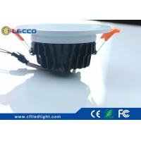 Quality SDCM < 3 LED Recessed Downlight For Home / Kitchen 1200LM COB / Epistar LED Chip for sale