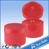 Wholesale Red Standard flip top bottle cap , cosmetic shampoo bottle caps from china suppliers
