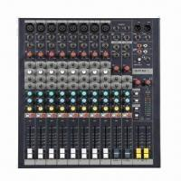 Wholesale Professional Audio Mixer with 8/12 Channels, 3-band Graphic Equalizer from china suppliers
