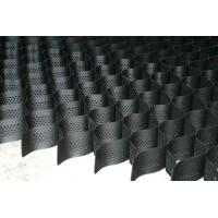 Wholesale Perforated / Plate HDPE Slope Protection Geocell Mesh Black / White / Green from china suppliers