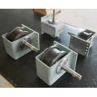 Wholesale 45# Hollow Shaft Crane End Carriage / Shot Blasting Wheel Block For End Carriage from china suppliers