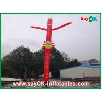 Wholesale Inflatable Air Dancer / Attractive Mini Inflatable Smile Air Tube Man For Wedding from china suppliers