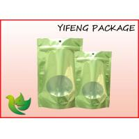 Wholesale Aluminum Foil Stand Up Resealable Pouch Ziplock And Window Laminated Bag from china suppliers