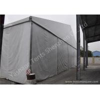 Wholesale Hard Aluminum Frame Industrial Storage Tents , Temporary Warehouse for Bonded Logistics from china suppliers