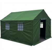 Wholesale Green military industrial canvas storage construction tent connectable tents house commercial from china suppliers