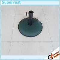Wholesale Heavy Duty Patio Umbrella Bases Round Concrete Parasol Stand with Logo from china suppliers