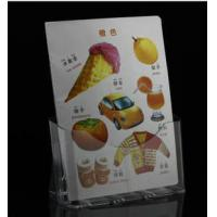 Wholesale office leaflet holder plastic brochure holder plastic brochure holder one pocket  wall brochure brochure display from china suppliers