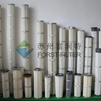 Wholesale FORST High Temperature Pleated Bag Cartridge Polyester Felt Filter Bag from china suppliers
