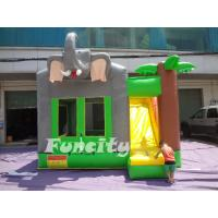 Wholesale Huge Elephant Kids Inflatable Bouncy Castle Anti - UV PVC Toddler Inflatable Bouncer from china suppliers
