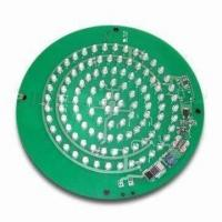 Wholesale Green LED PCB Assembly FR4 Based PCB 2.4mm Lead free HASL finished from china suppliers