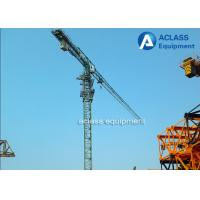 Wholesale P6016 Flattop Topless City Lifting Tower Cranes 10T 50m Height , GOST from china suppliers