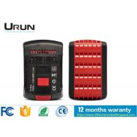 Wholesale High Capacity Cordless Tool Replacement Batteries , 18 Volt Li Ion Rechargeable Battery from china suppliers