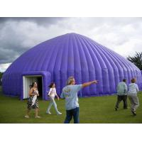 Wholesale Big Purple 0.45mm PVC Outdoor Inflatable Party Tent For Backyard from china suppliers
