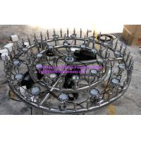 Wholesale 3 Rings 4 Patterns Programme Control Water Fountain Equipments With Control Cabinet from china suppliers