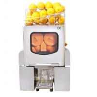 Buy cheap 370W Automatic Feeding Commercial Orange Juicer Machine with Touchpad Switch from wholesalers