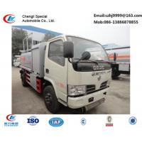 Wholesale factory sale best dongfeng 5,000L fuel dispensing truck, hot sale best price dongfeng 5m3 fuel tank truck for sale from china suppliers