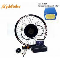 Wholesale 72v 5000w Motor Rear Wheel Electric Bike Conversion Kit For Enduro Ebike And Motorcycle Kit from china suppliers