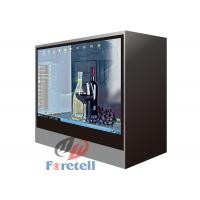 Wholesale Jewelry Exhibition Lcd Transparent Screen Transparent Video Showcase 100 ~ 240V Power Supply from china suppliers