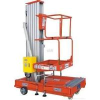 Buy cheap Adjustable heighSingle Mast Aerial climbing Work Platform & Lift Table with high quality from wholesalers