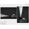 Buy cheap 180° Moving Head Fog Machine , 1500W Club / Disco Smoke Machine from wholesalers