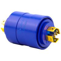 Wholesale 6 Circuits LPR Series Slip Ring Brushless Slip Ring 15a Silver Plated Pin Connecting from china suppliers