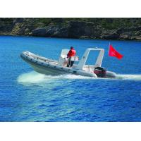 Chemical Resistance Inflatable Rigid Hull Boats Dimensional Stability 22 Ft