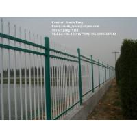 Wholesale commercial steel fence without digging and moving from china suppliers
