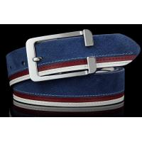 Wholesale high quality men's pant belts in suede leather from china suppliers
