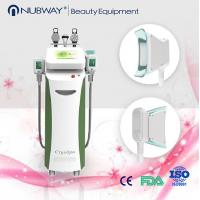 Wholesale Five Handles Multifunctional 2 Cryo 2 RF 1 Cavitation Cryolipolysis Fat Melting Machine from china suppliers