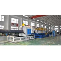 Wholesale HDPE/PP Double Wall Corrugated Pipe Production Line , Corrugated Pipe Production Equipment from china suppliers