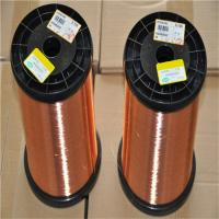 Buy cheap Small Motor Polyureethane Enamelled Copper Wire , Fine Magnet Wire Solderability from wholesalers