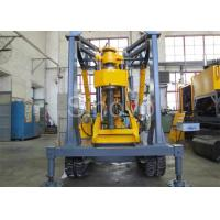Wholesale Yellow Spindle Crawler Core Drilling Rig , Drilling Diameter 75 - 800mm from china suppliers