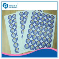 China Medicine Warning Labels , Digital Printing Air Conditioning Stickers on sale