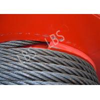 Three Layers Spooling Winch Drums with Lebus Grooving for Lifting Area