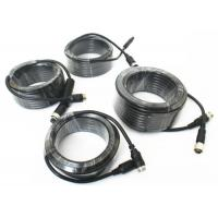 Wholesale 4 Pin Vehicle Monitor Aviation Cable , Video / Audio Cctv Camera Cable from china suppliers